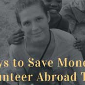 Save Money while volunteer abroad