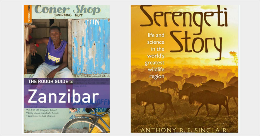 Books to read while traveling in tanzania