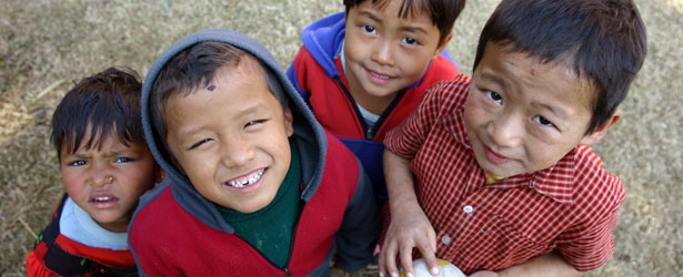 volunteer in Nepal Himalaya