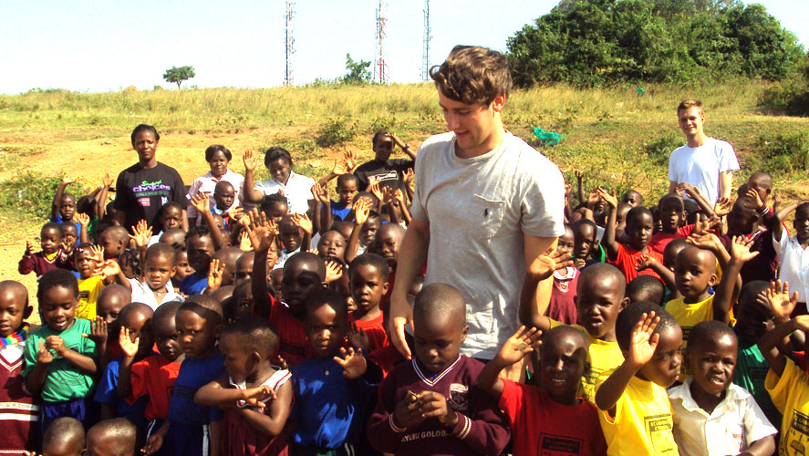 Arriving  and Volunteering in Ghana