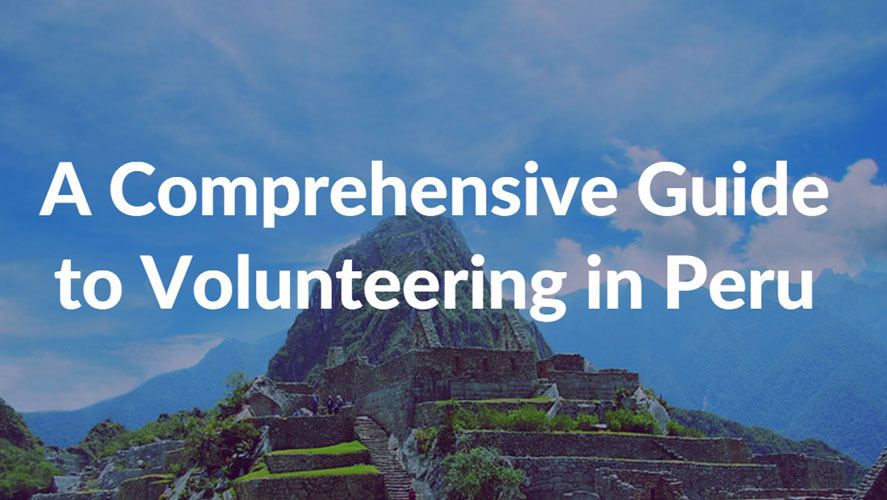 volunteer in peru guide