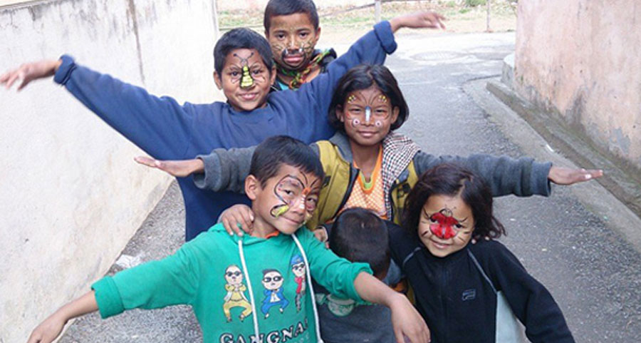 work in orphanage in nepal